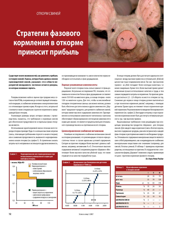 Беконный откорм свиней реферат 7066