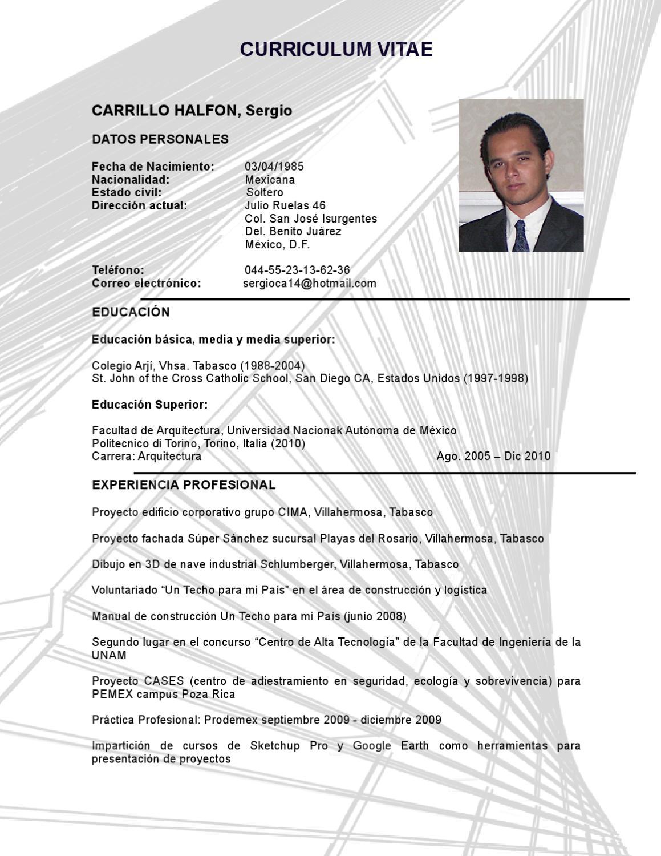 SCH CV by Sergio Halfon - issuu