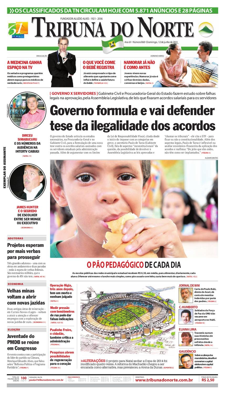 Tribuna do Norte - 12 06 2011 by Empresa Jornalística Tribuna do Norte Ltda  - issuu 3f0fb46473