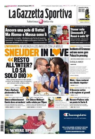 sneakers for cheap 40e2a 9f940 Gazzetta dello sport - 12 giugno 2011 by lòxzck fdsfs - issuu