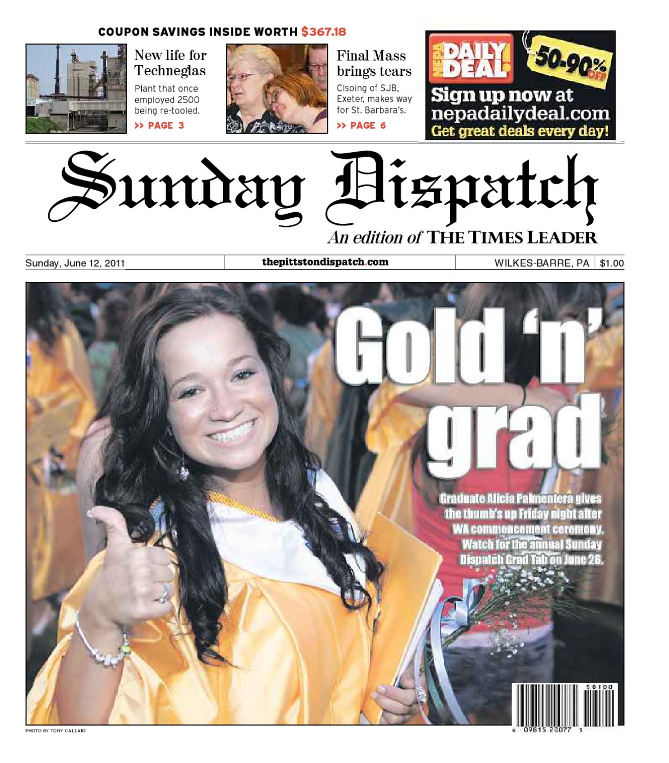 The Pittston Dispatch 06-12-2011 by The Wilkes-Barre Publishing Company -  issuu