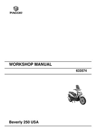 manual piaggio beverly 250