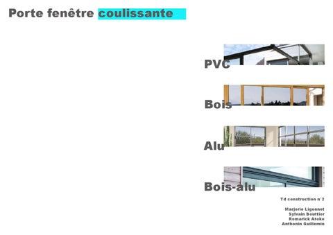 Dossier Porte Fenêtre By Guillemin Anthonin Issuu