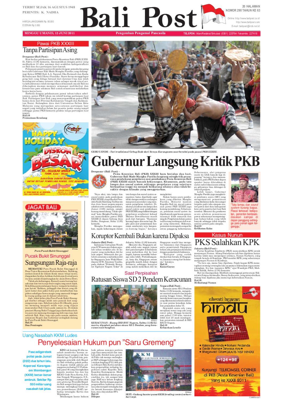 Edisi 12 juni 2011 balipost com by e paper kmb issuu