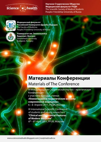 Abstract Book - Conference 2011 by Science Health - issuu