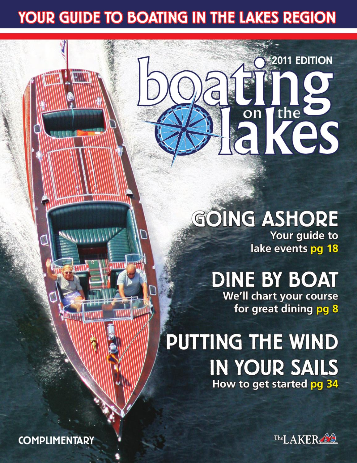 Boating on the Lakes 2011 by The Laker - issuu