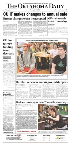 The Oklahoma Daily By Ou Daily Issuu