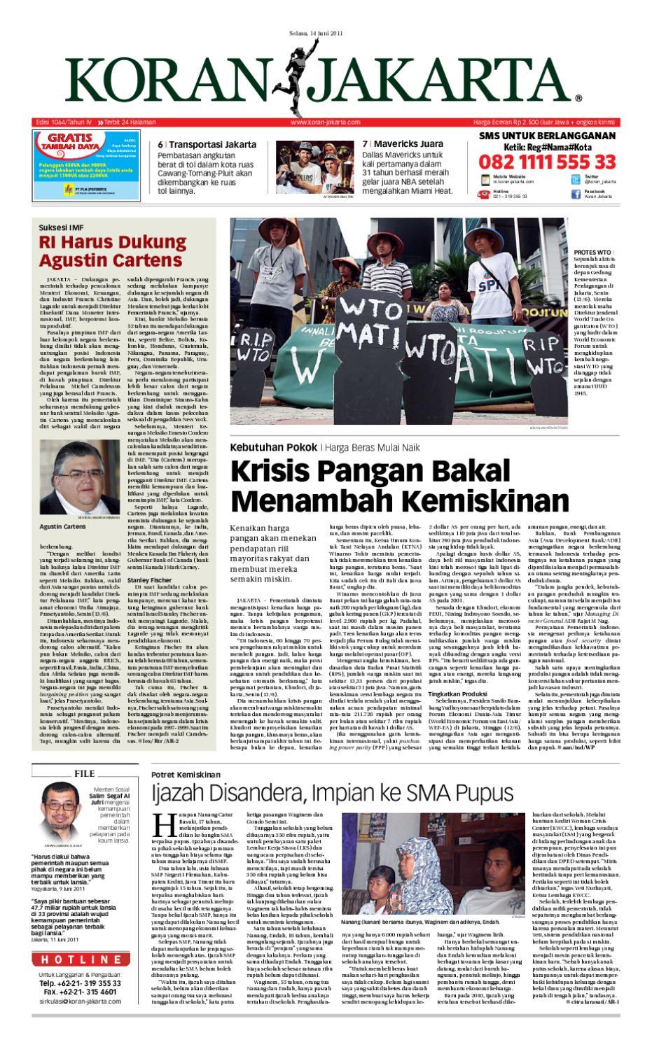 Edisi 1064 14 Juni 2011 By Pt Berita Nusantara Issuu Perdana Axis Acak Revanyu