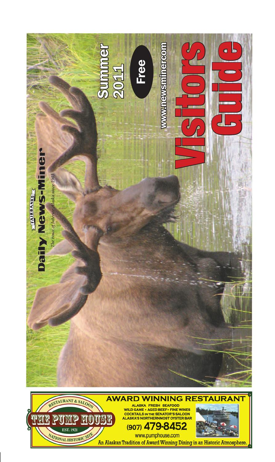 2011 Summer Visitors Guide By Fairbanks Daily News Miner Issuu Prime Garbage Disposal Power Supply Cord Gray 6feet Walmartcom