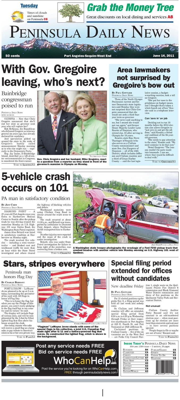 Clallam 0614 by Peninsula Daily News & Sequim Gazette - issuu