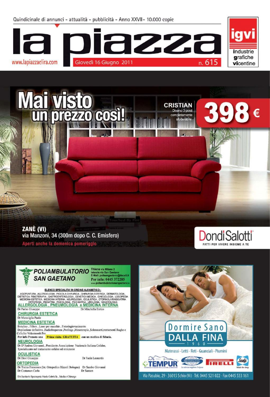 Dondi Salotti Castel Maggiore.La Piazza 615 By Pubblistudio Pubblicita Srl Issuu