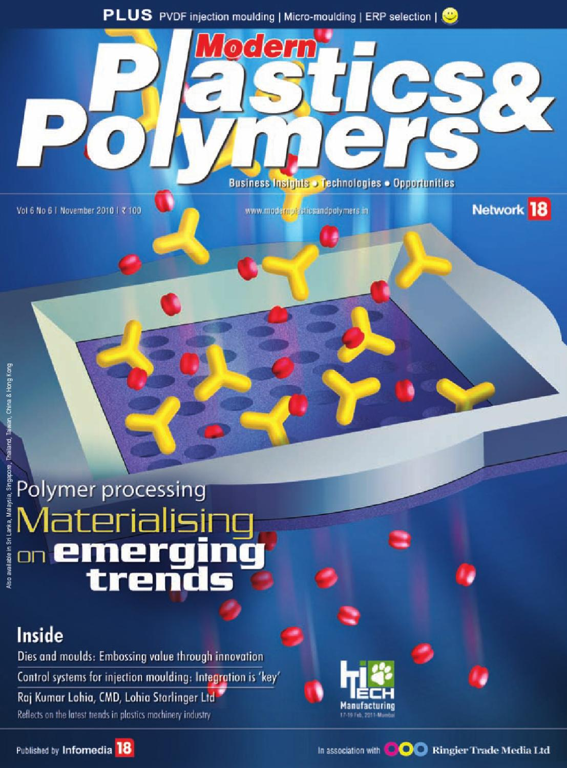 Modern Plastics & Polymers - November 2010 by Infomedia18