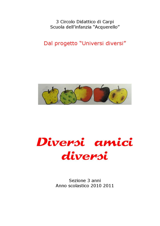 Diversi amici diversi by scuola acquerello issuu - Diversi a diversi contabilita ...
