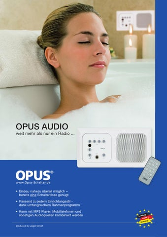 opus radio by mft handelsonderneming issuu. Black Bedroom Furniture Sets. Home Design Ideas