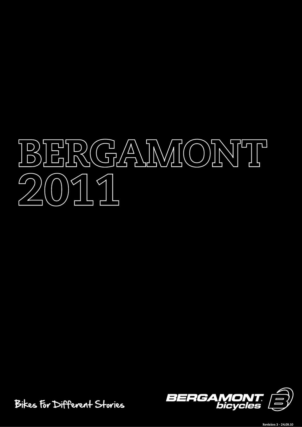 BERGAMONT Catalog 2011 by Bicycles Catalog - issuu