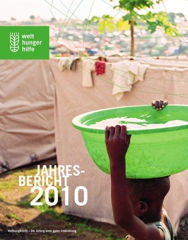 Welthungerhilfe Jahresbericht 2010 By Welthungerhilfe Issuu