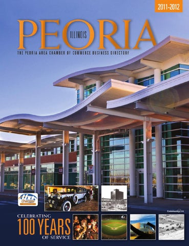 Peoria Il 2011 Business Directory By Tivoli Design Media Group