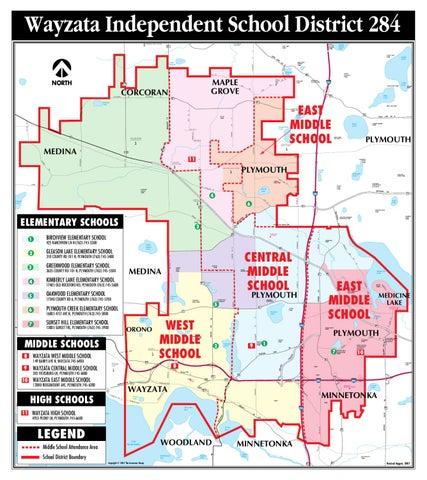 Wayzata School District Map Wayzata Public Schools Map and Directions by Wayzata Public  Wayzata School District Map