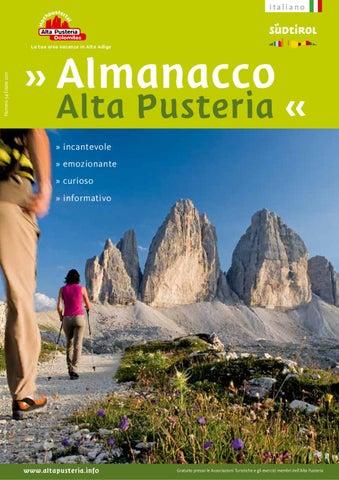 Almanacco dell Alta Pusteria - estate 2011 by 3 Zinnen Dolomites - issuu 3c1a760e256