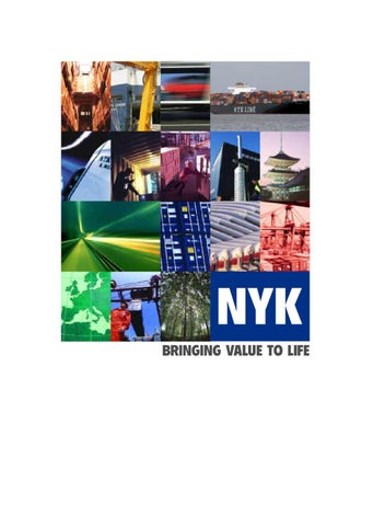 NYK Group Brochure