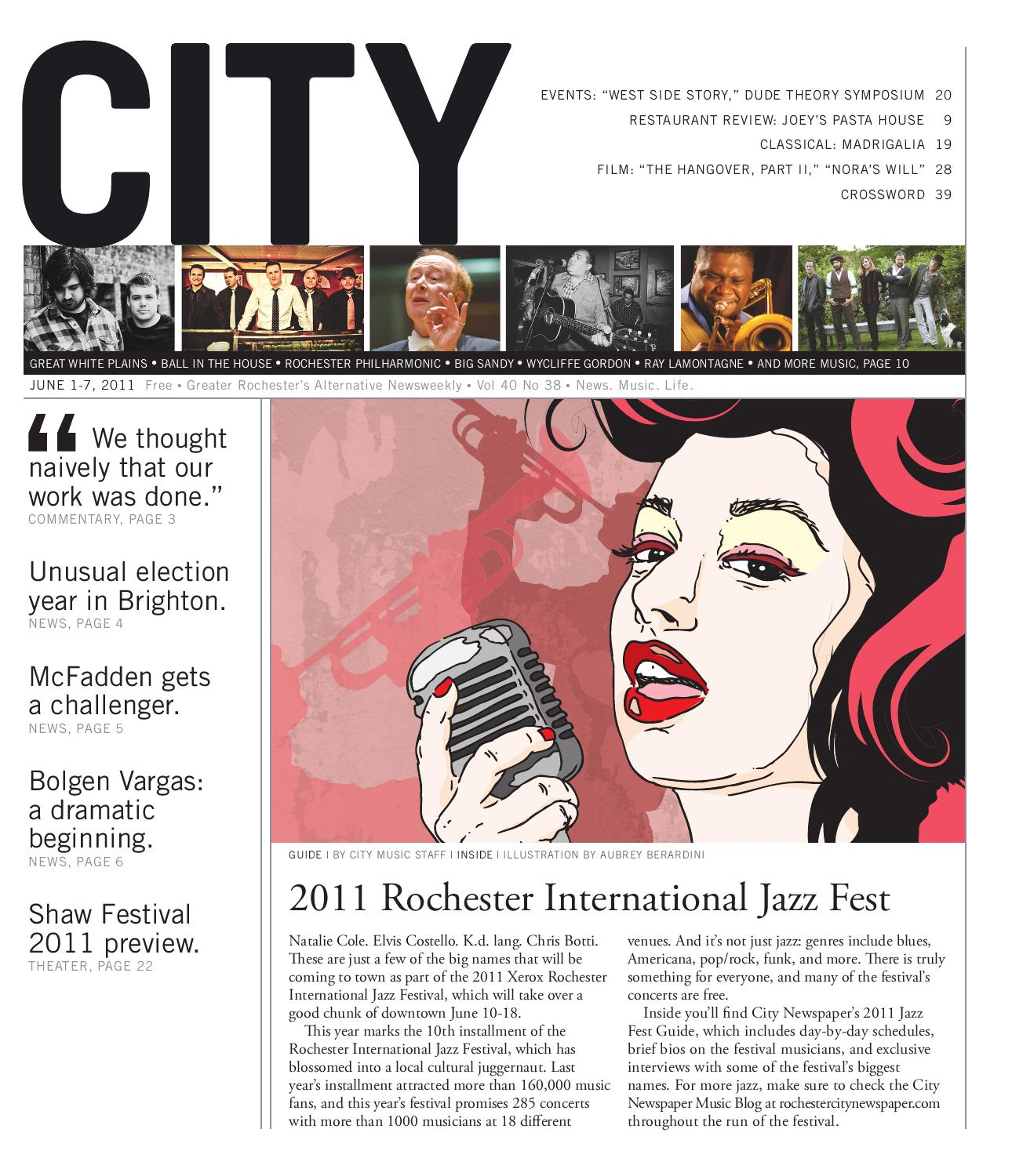 June 1-7, 2011 - CITY Newspaper by Rochester City Newspaper