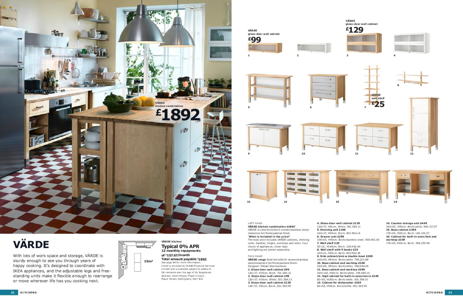 Range brochure kitchen 2011 by issuu for Coupon mobile ikea