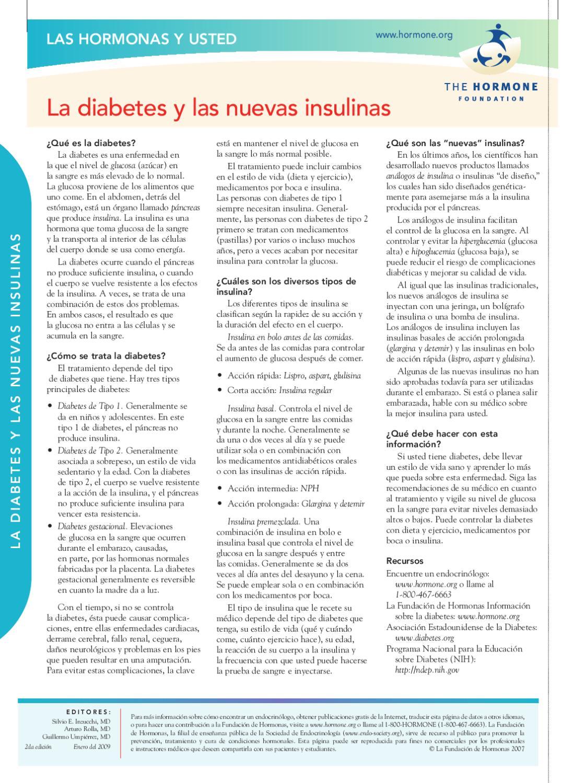 dieta de diabetes nih
