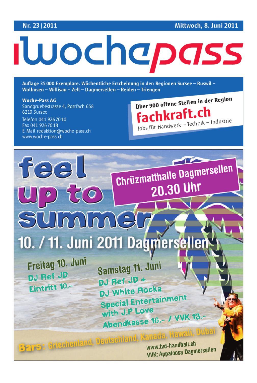 Woche Pass Kw 23 8 Mai 2011 By Woche Pass Ag Issuu
