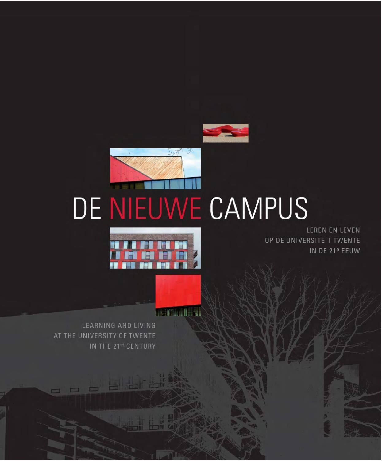 de nieuwe campus the new campus book text by marco krijnsen