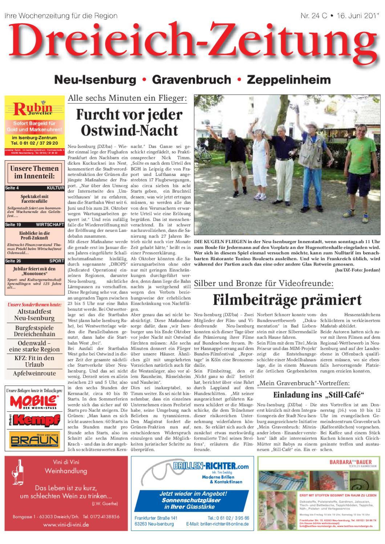 DZ_Online_C KW24 by Dreieich ZeitungOffenbach Journal issuu