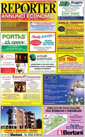 Reporter Annunci 17 giugno 2011 by Reporter - issuu 75c667f4344