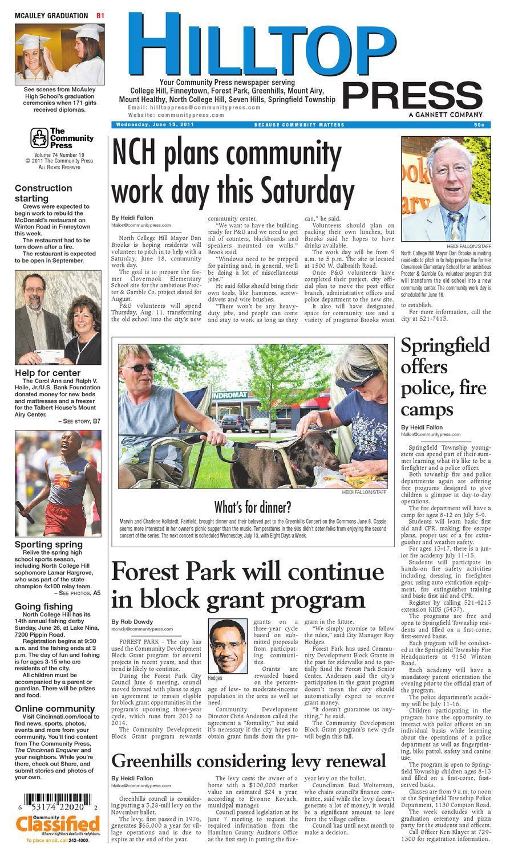 Hilltop Press 061511 By Enquirer Media Issuu