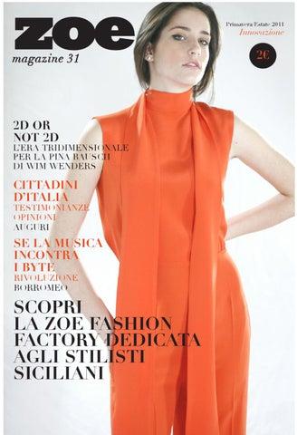 zoe magazine 31 by gioia gange - issuu ac7ed7faae04