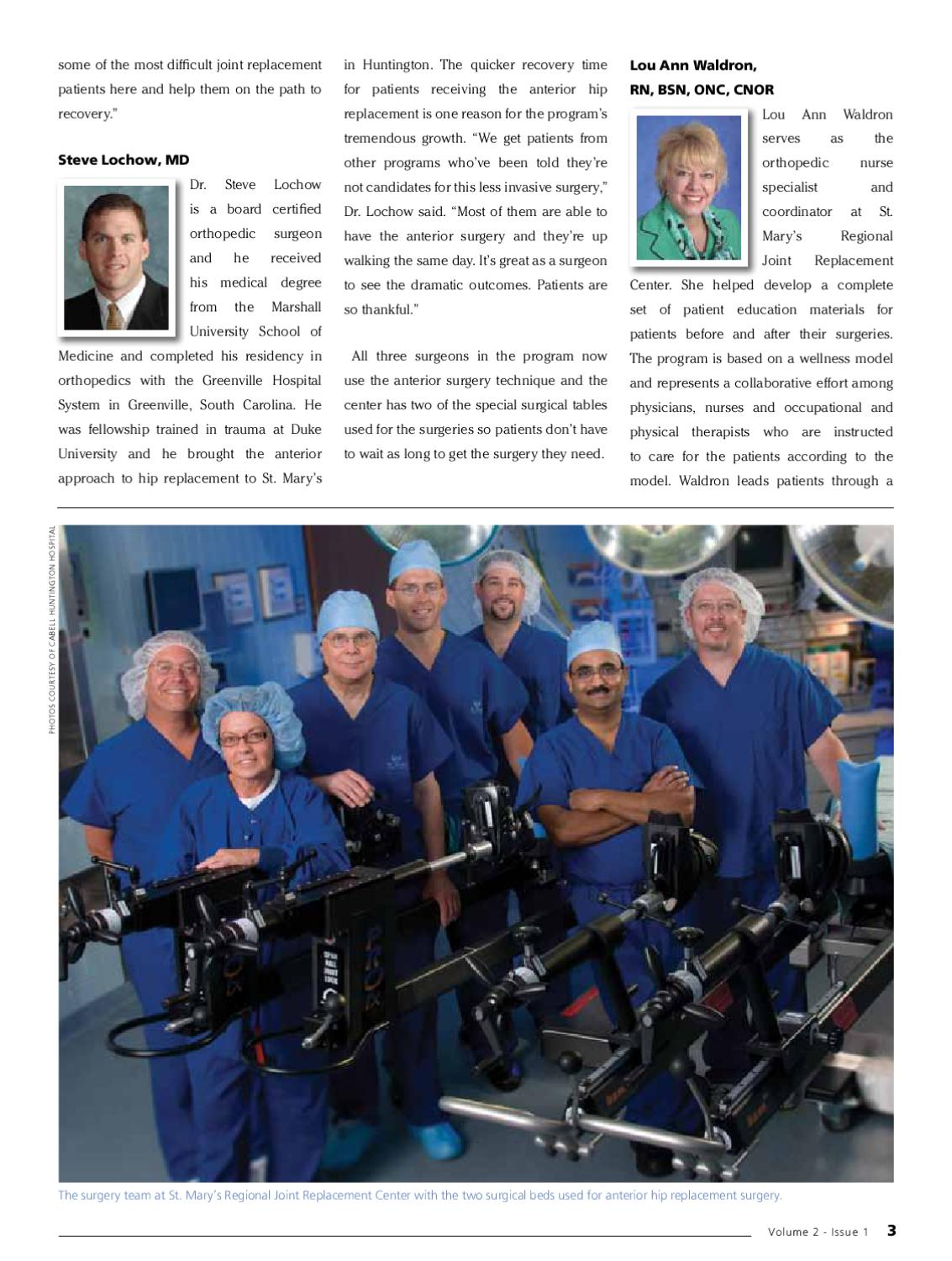 WV Physician Magazine Volume 2, Issue 1 by P  J  Hutton - issuu