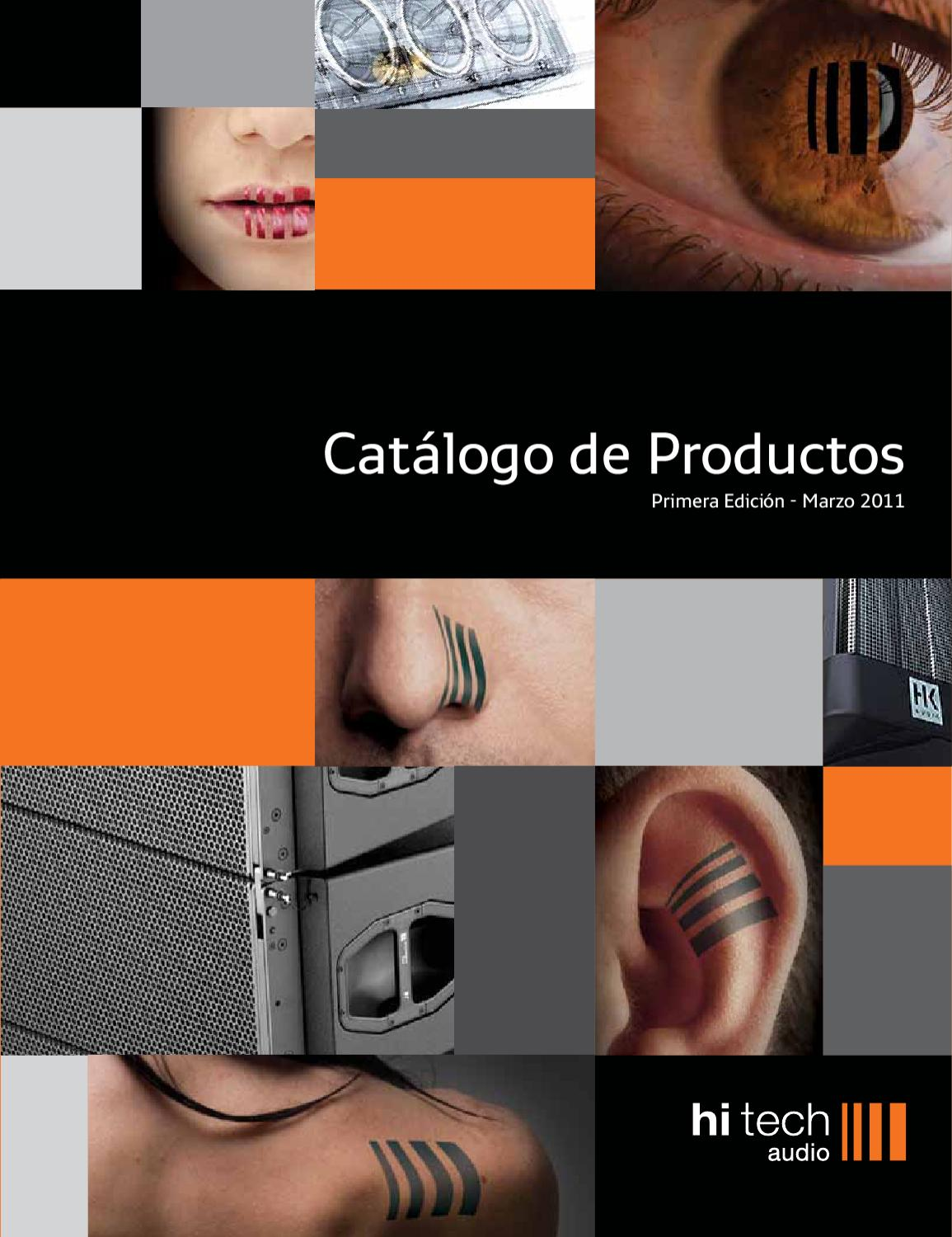 hitech audio catalogo by hi tech audio issuu. Black Bedroom Furniture Sets. Home Design Ideas