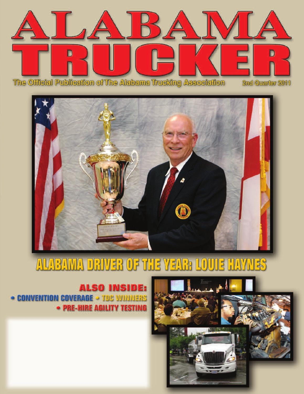 Alabama trucker 2nd quarter 2011 by alabama trucking association issuu