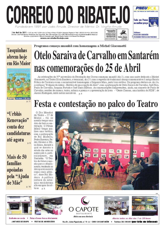Edicao nr 6250 1 Abril 2011 by Correio do Ribatejo jornal - issuu c3b0e6677f5