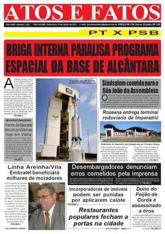 Jornal do dia 17 06 2011 by Atos e Fatos 2 jornal - issuu c7ca291f99cdb