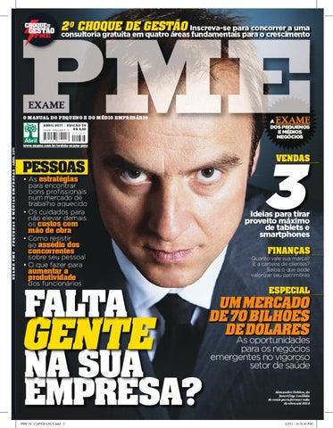 6b6cc39f2cc12 Revista EXAME PME- Edição 36 by Revista EXAME - issuu
