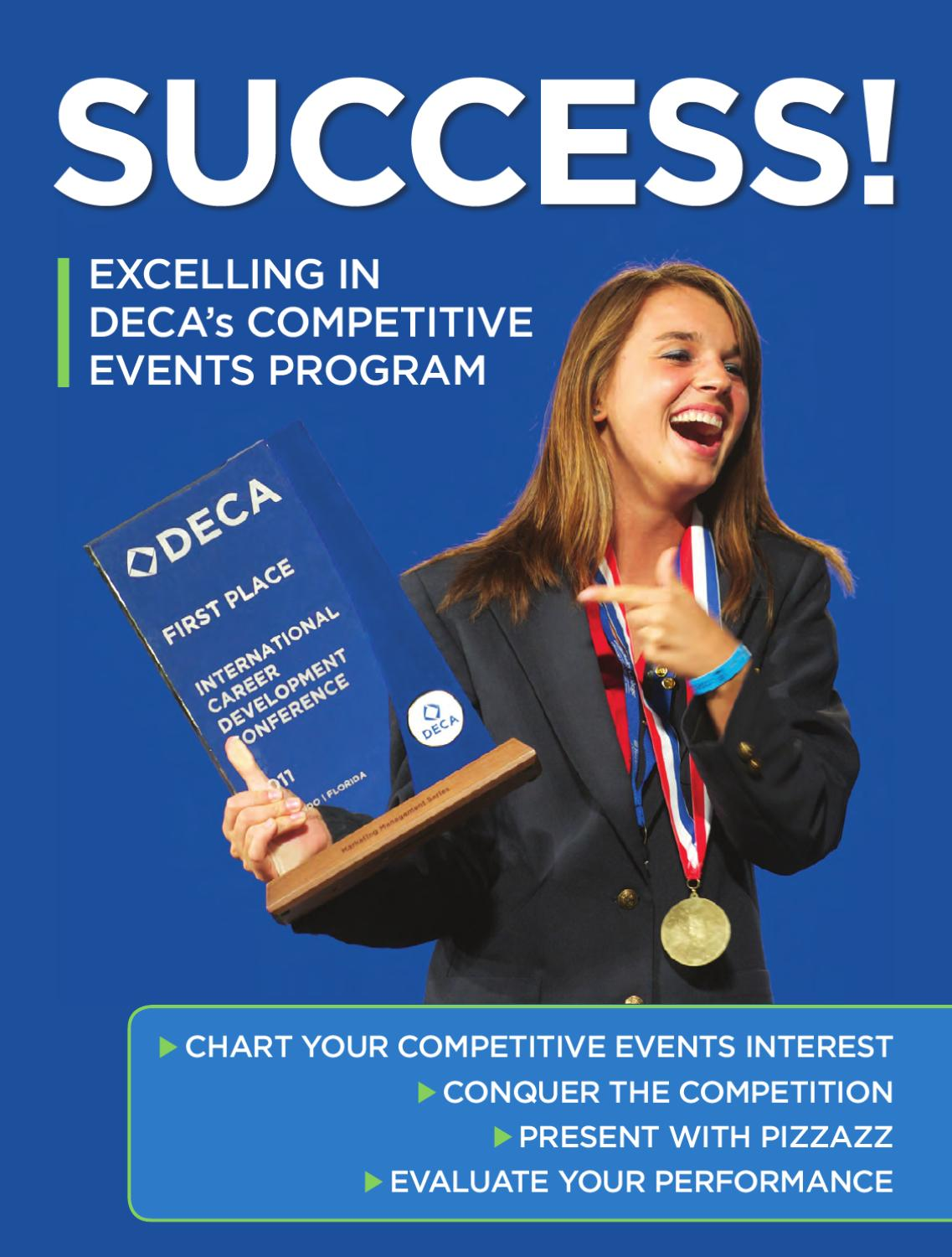 Success! Excelling in DECA's Competitive Events Program by DECA ...