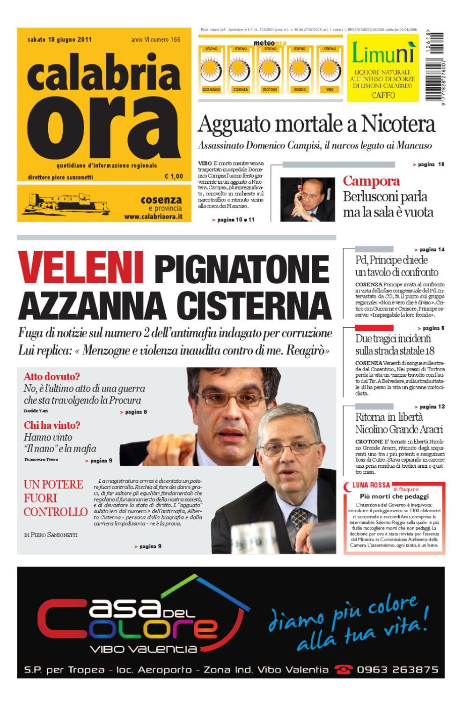 18-06-2011cs by Redazione CalabriaOra Redazione - issuu ed9432141ca