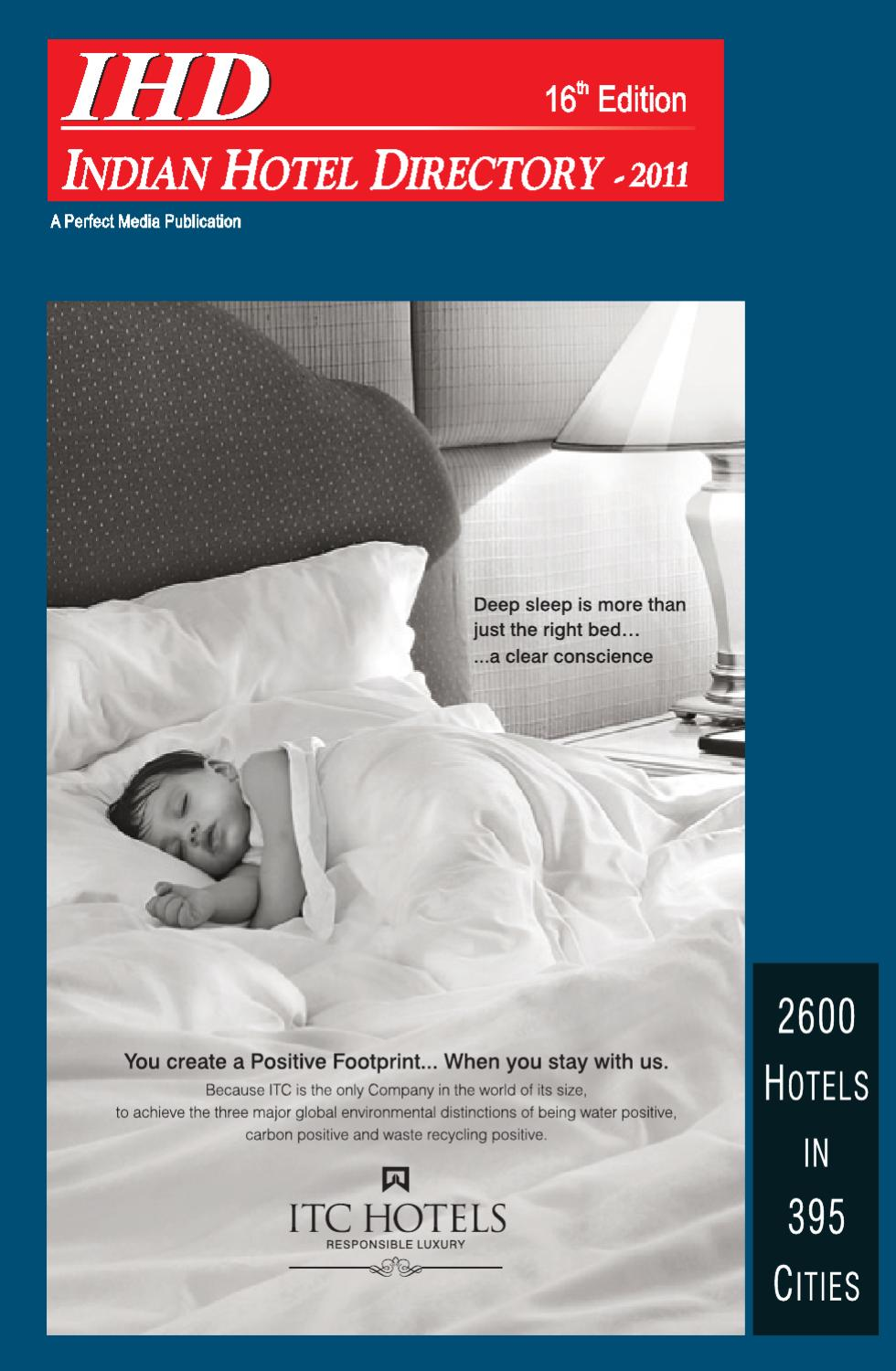 Indian Hotel Directory 2011 by Higher Education Directory - issuu