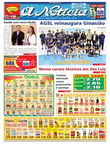 Edição dos dias 18 e 19 de junho de 2011 by Jornal A Notícia - issuu 9af6896ad85e9