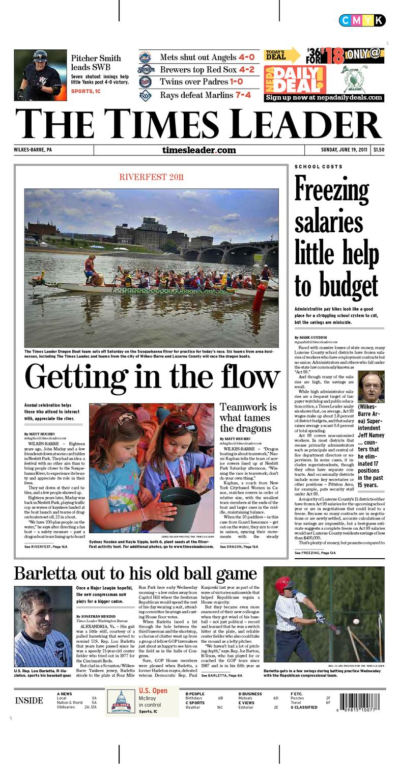 0414a602bad Times Leader 06-19-2011 by The Wilkes-Barre Publishing Company - issuu