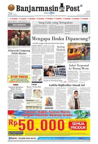 Banjarmasin Post Edisi cetak Senin 20 Juni 2011 d68002e3df
