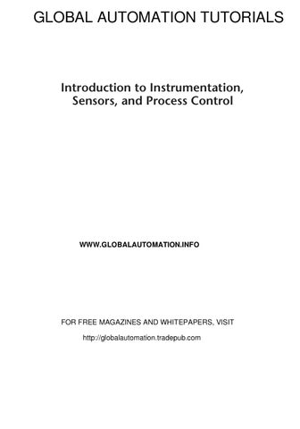intro to instrumentation systems controls by globalautomation by rh issuu com