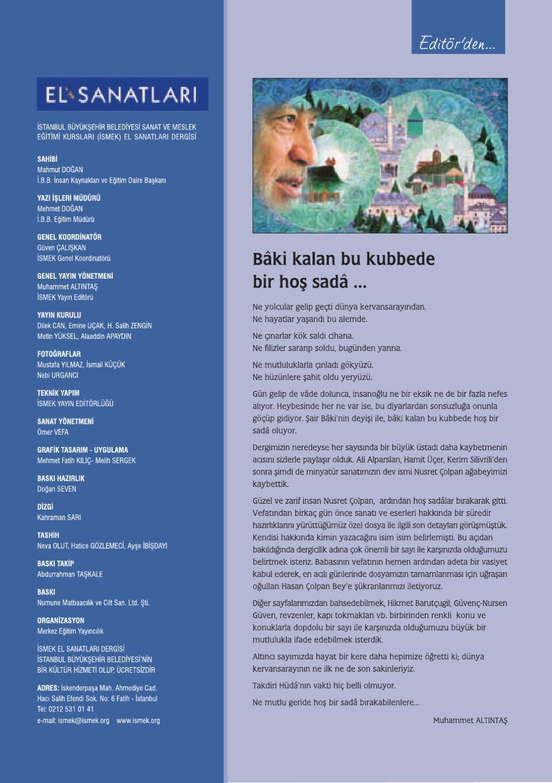Dergi6 By Istanbul Buyuksehir Belediyesi Issuu
