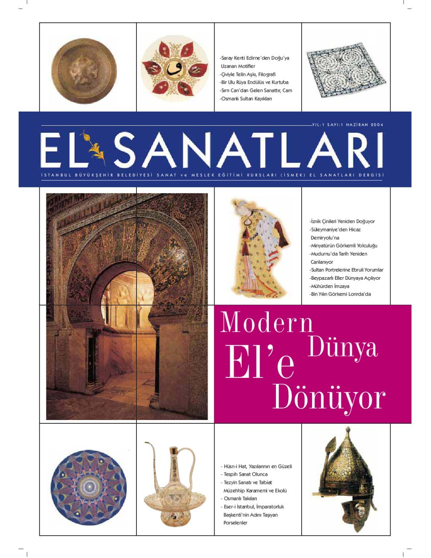 El Sanatlari Dergisi 1 By Istanbul Buyuksehir Belediyesi Issuu