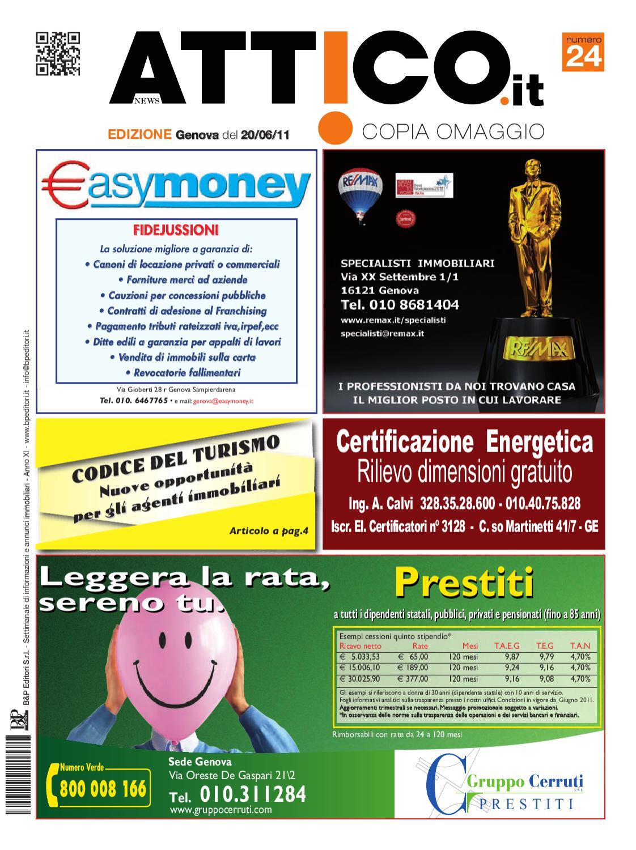 ATTICO GENOVA N° 24 - 2011 by B&P Editori - issuu