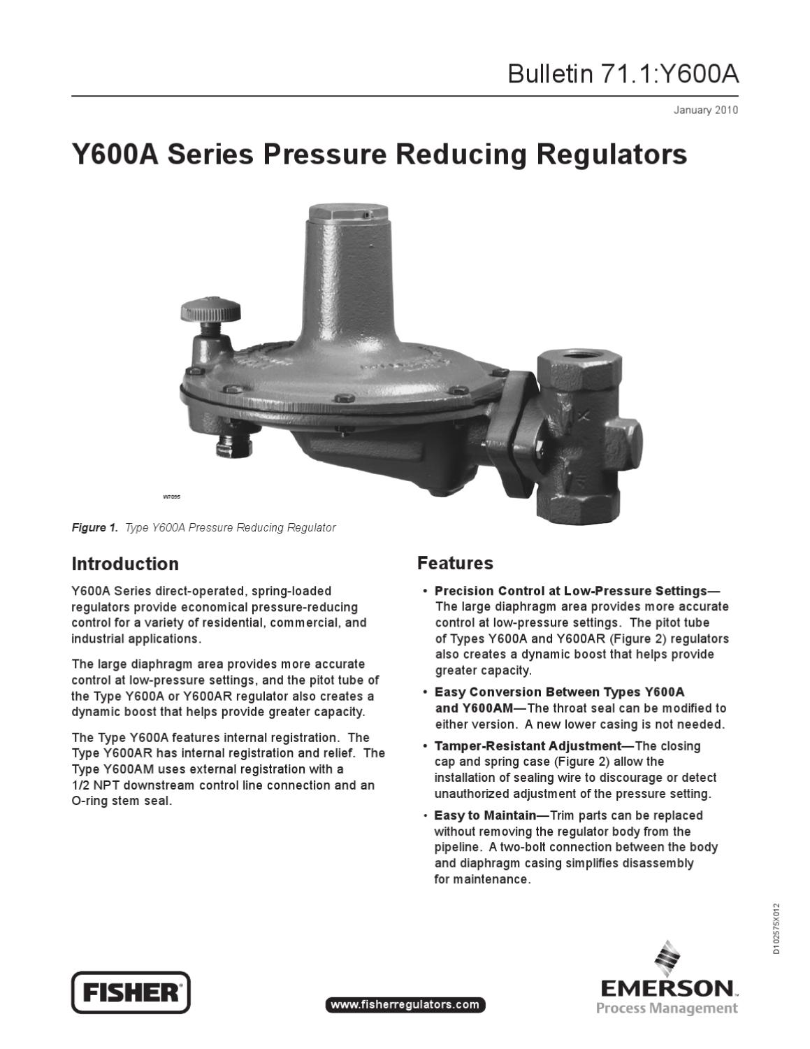 Y600 Bulletin by RMC Process Controls & Filtration, Inc ...